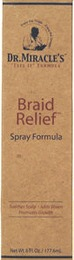 Dr miracles braid relief spray