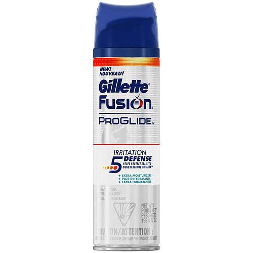 Gillette fusion proglide irritation defense shave gel