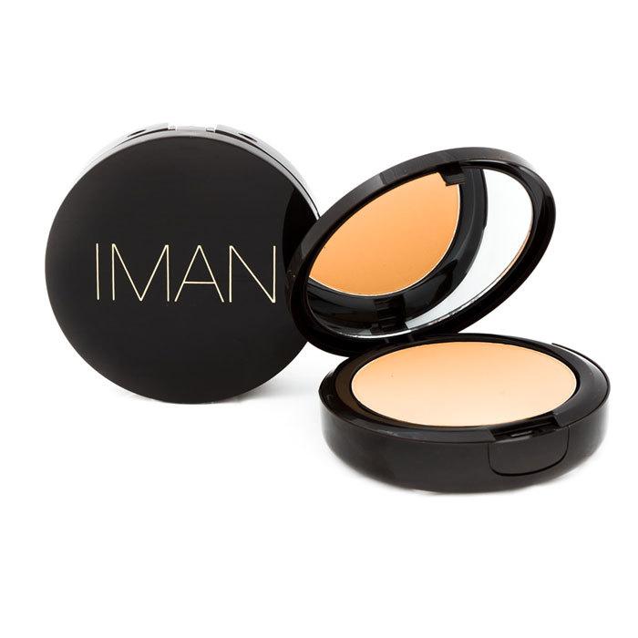 Iman luxury pressed powder clay medium