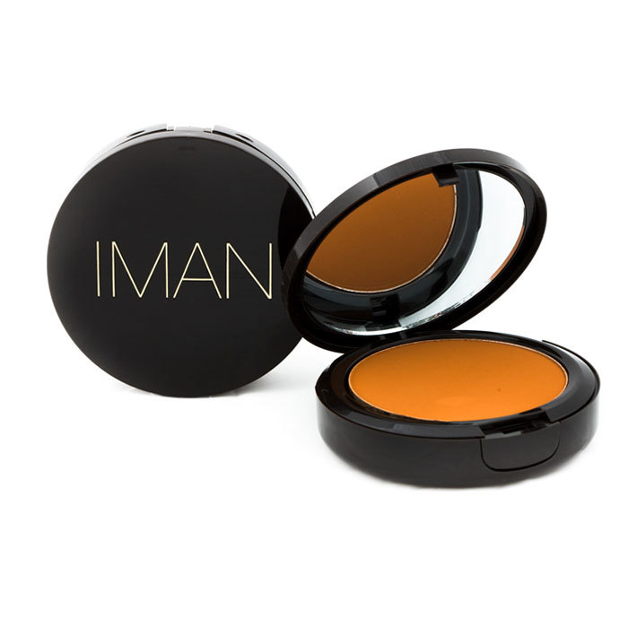 Iman luxury pressed powder earth dark
