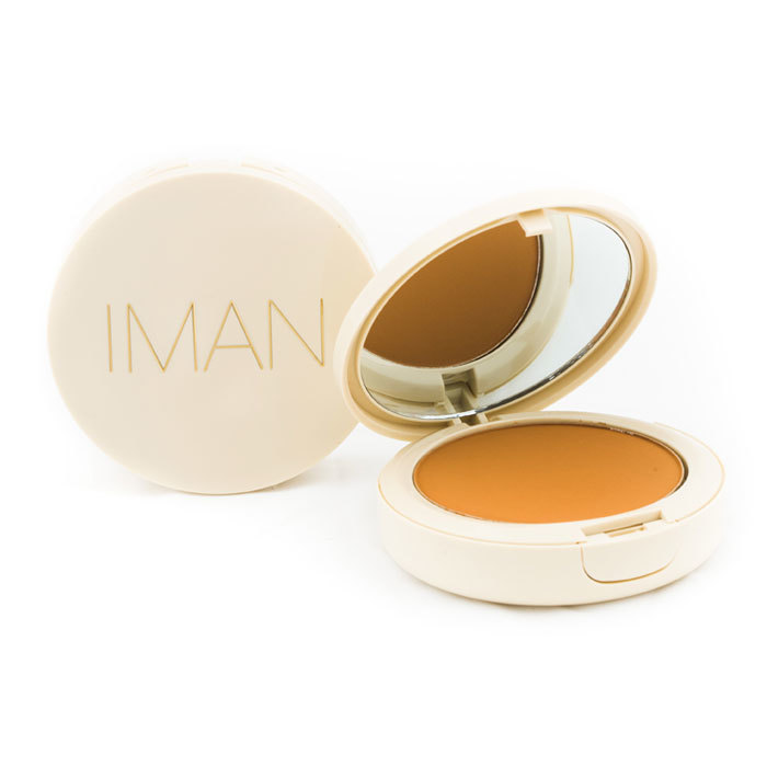 Iman oil blotting pressed powder light medium
