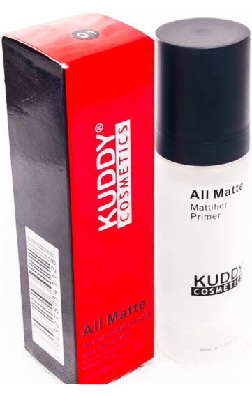 Kuddy cosmetics all matte mattifier primer