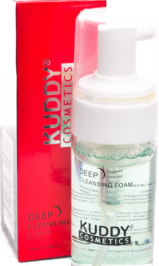 Kuddy cosmetics deep cleansing foam