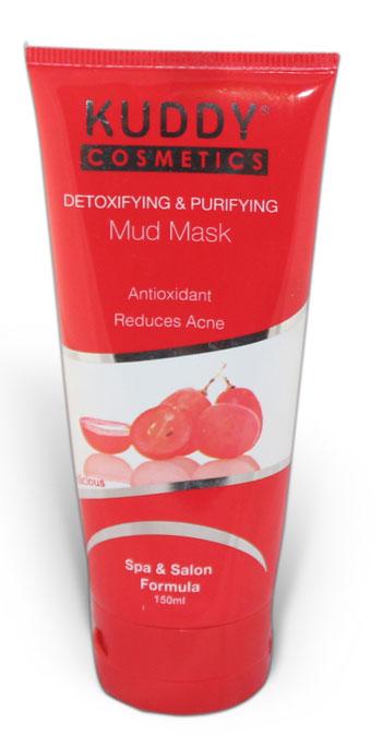 Kuddy cosmetics detoxifying and purifying mud mask