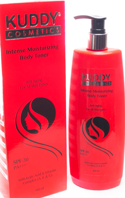Kuddy cosmetics intense moisturizing body toner