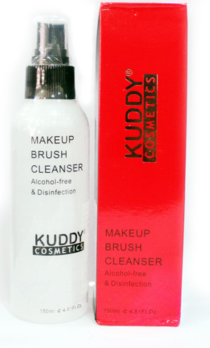 Kuddy cosmetics makeup brush cleanser