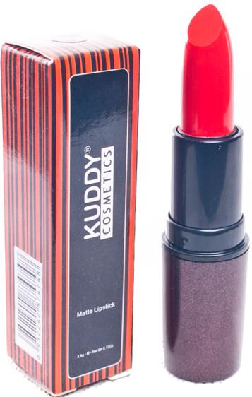 Kuddy cosmetics matte lipstick peace