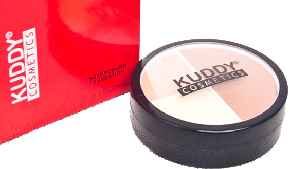 Kuddy cosmetics supercolor foundation