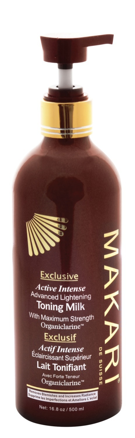 Makari exclusive active intense advanced lightening toning milk