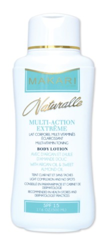 Makari naturalle multi action extreme body lotion