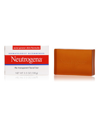 Neutrogena facial cleansing bar for acne prone skin