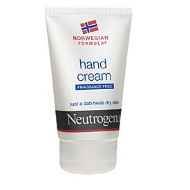 Neutrogena hand cream fragrance free