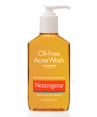 Neutrogena microclear oil free acne wash