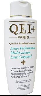 Qei plus active performance multi action body lotion