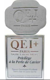 Qei plus active privilege exfoliating purifying soap with pearl caviar