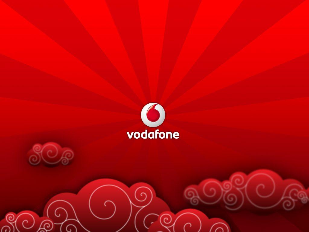 El logotipo de la operadora de Vodafone