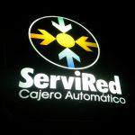 La imagen del logotipo de la red de bancos Servired