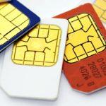 Diferentes tarjetas SIM