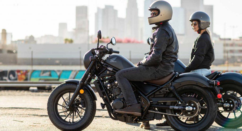 Mejores motos para viajar: Honda Rebel CMX500