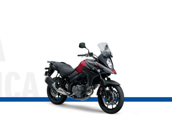 Mejores motos para viajar: Suzuki V-Strom 650