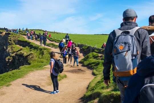 (Small Group) Cliffs of Moher Day Tour from Dublin