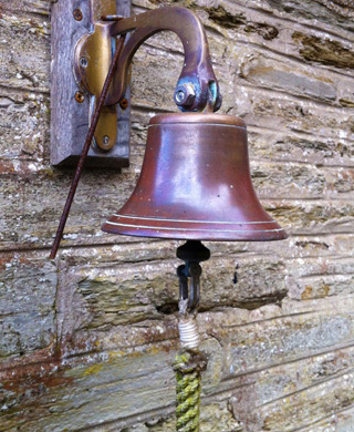 Grange Hotel bell on the wall