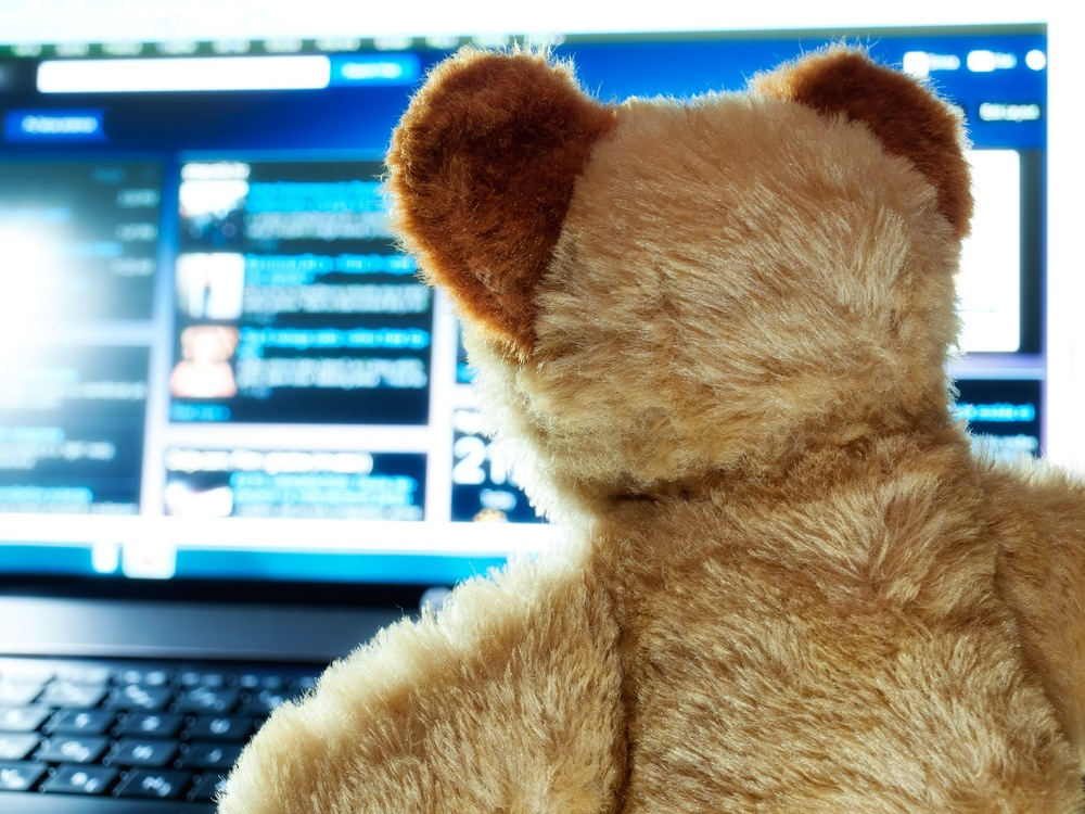 Abstract-bear-monitor