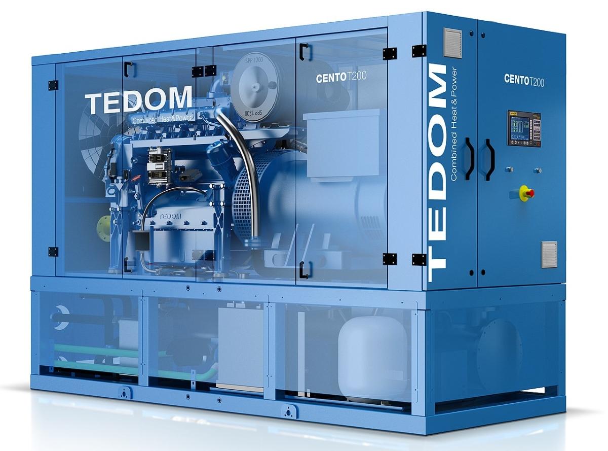 Tedom Cento T200 CHP System - Kiasu Workforce