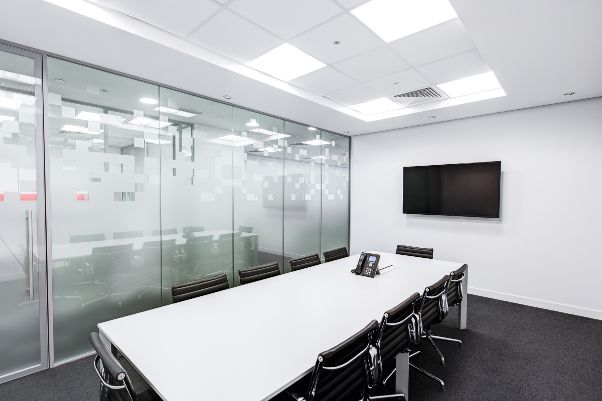 Property maintenance - black-and-white-boardroom-ceiling-260689 - Kiasu Workforce
