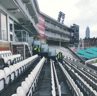 The Kia Oval - Stadium Cleaning