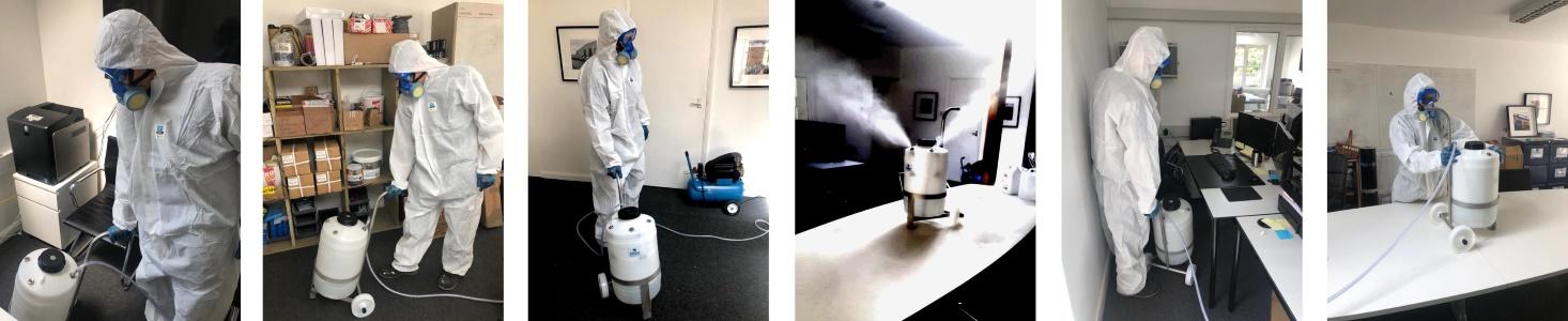 Kiasu Workforce COVID Disinfection Deep Cleaning Fogging