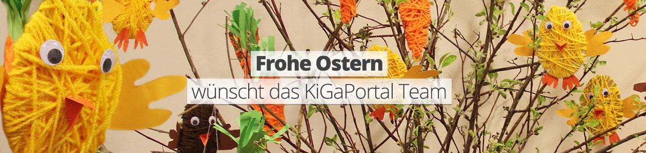 Frohe Ostern wünscht das KiGaPortal Team