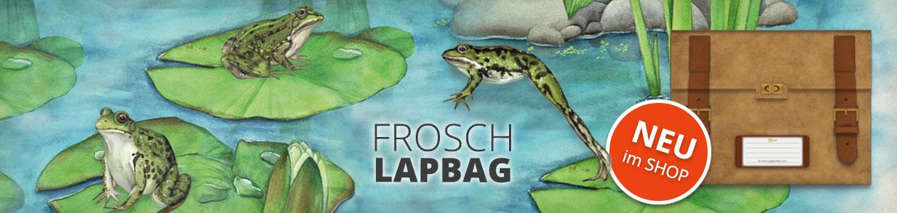 FROSCH LAPBAG - JETZT NEU IM SHOP