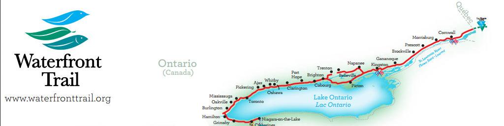 Lake Ontario - Waterfront Trail -  East of Toronto