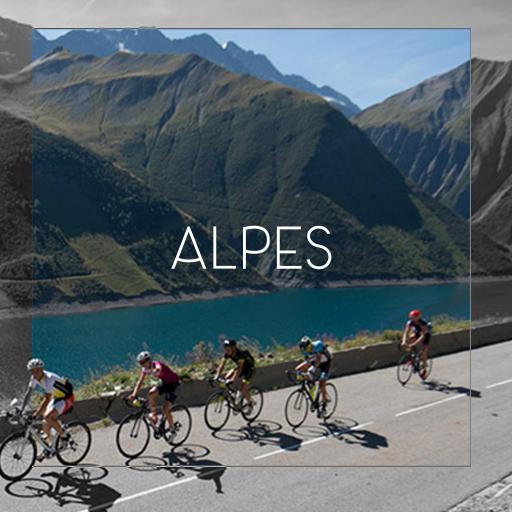 Les Alpes à vélo