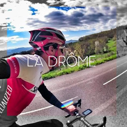 Le Drôme à vélo