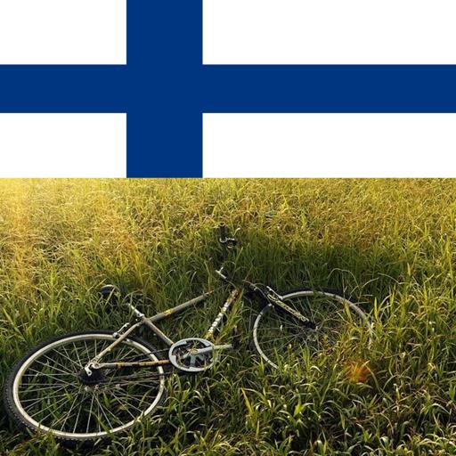 Bike riding in finland