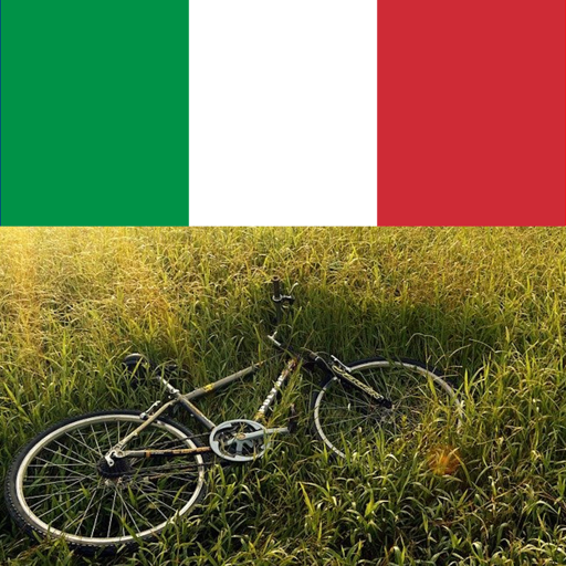 Bike riding in italy