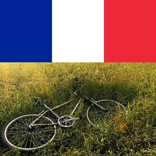 Bike riding in france