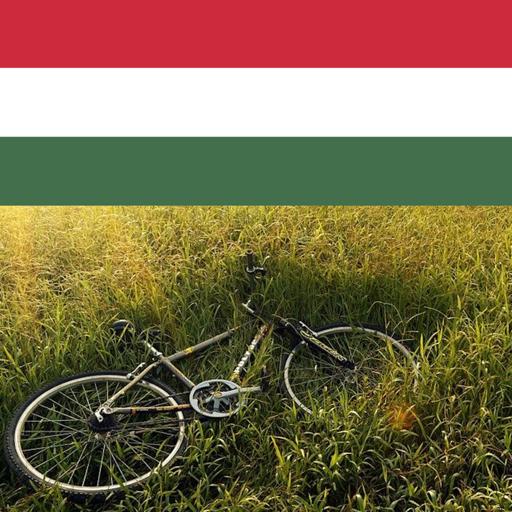 Bike riding in hungary