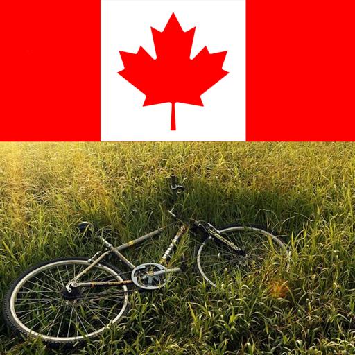 Bike riding in canada