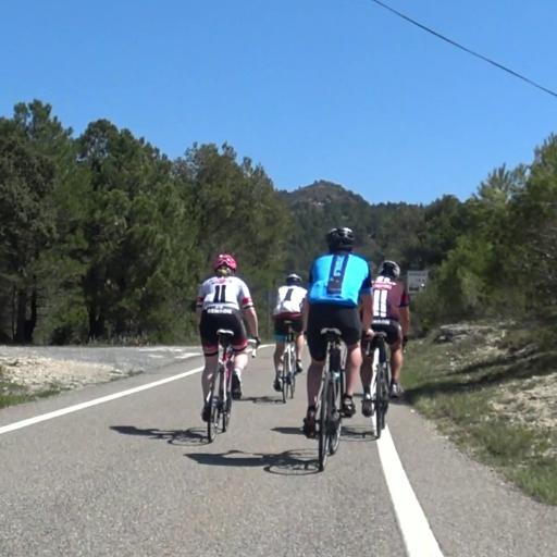 Virtual Roadbike Training Camp in Spain 2021 Day 6