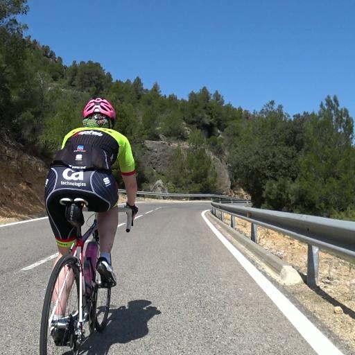 Virtual Roadbike Training Camp in Spain 2021 Day 9