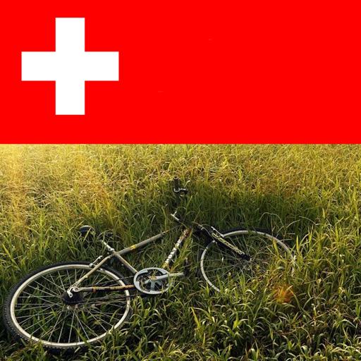 Bike riding in switzerland