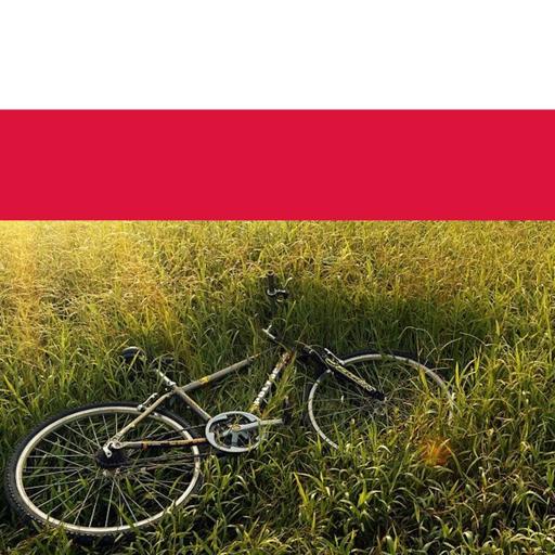 Bike riding in poland