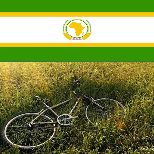 Bike riding in africa