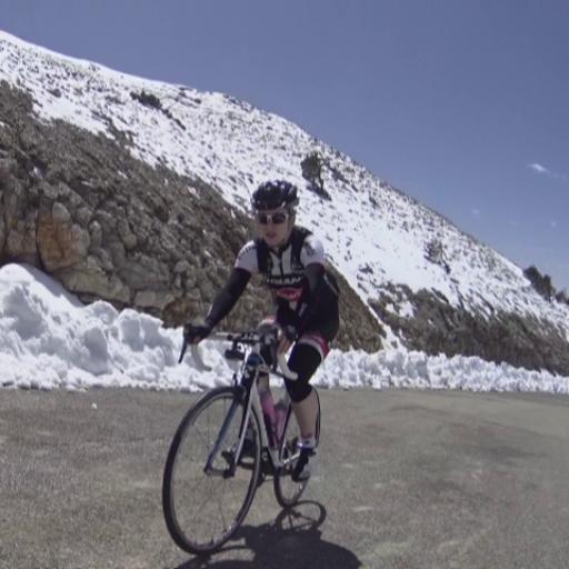 Club De Cingles Mont Ventoux 🚵♀️ Snow Ride