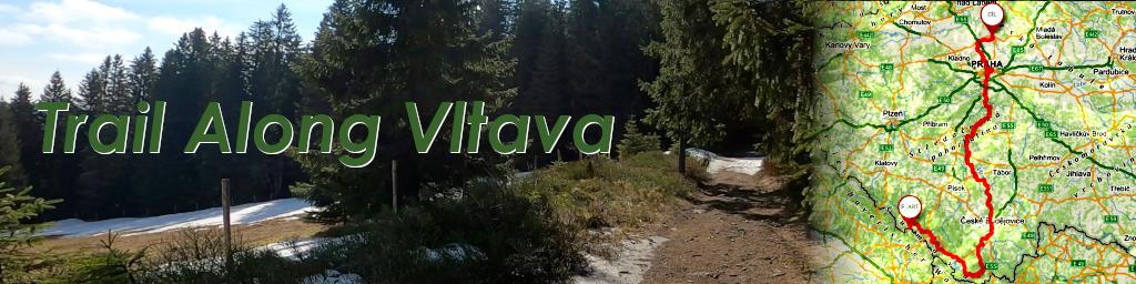 Trail Along Vltava