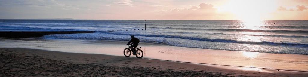 Bike riding in  paradise