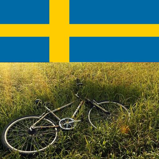 Bike riding in sweden